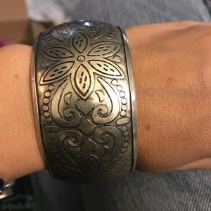 Jewelry - Wide bangle bracelet